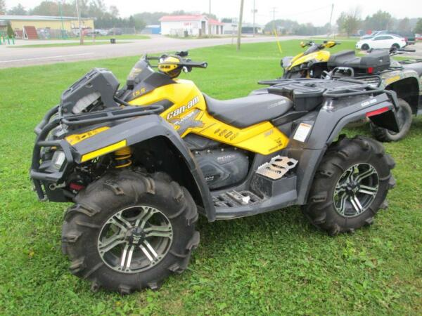Used 2011 Can-Am Outlander™ 800R X mr