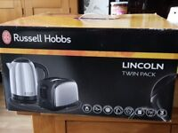 Kettle and toaster russel hobbs