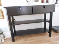 lovely Black Ikea sideboard nearly new