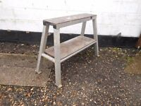 aluminium trestle hop up 36 ins long x 9 ins wide. made of 50mm ali box section