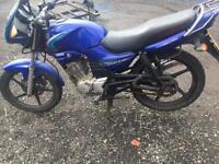 Yamaha ybr 125 long MOT rare edition