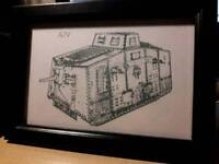 Military and aviation framed digital prints. Job lots available.