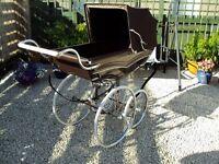 Stunning Silver Cross Wilson coach built baby pram. REDUCED REDUCED