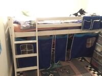 Cabin bed with tent good condition for sale  Tooting Broadway, London