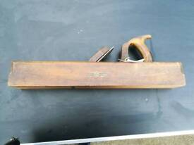 Wm marples and sons beech smoothing plane size 555mm