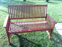 garden bench excellent condition
