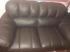Dfs 3 Seater Leather Sofa