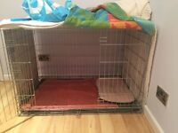 Puppy cage very good condition light and portable good quality