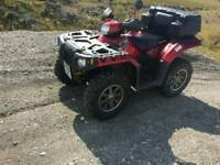 Polaris sportsman 550efi road legal quad