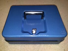 Blue Helix Cash Box.