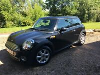 Black Mini 1 2009 Low Mileage