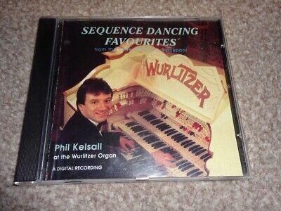 CD ALBUM - PHIL KELSALL - SEQUENCE DANCE FAVOURITES - WURLITZER ORGAN, usado comprar usado  Enviando para Brazil