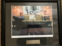 Signed Noel and Liam Gallagher Photo