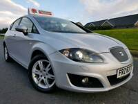 March 2013 Seat Leon 1.6 Tdi SE Copa Ecomotive £20 TAX! Stop/Start! Sat-Nav, Xenons, L.E.D. Lights