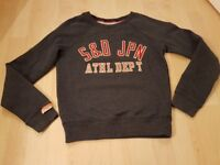 Superdry jumper xs 6/8