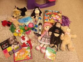Large storage box full of toys