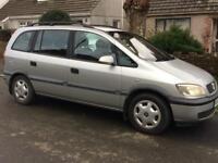 W (2000) Reg Vauxhall Zafira 1.6 Comfort - SPARES OR REPAIR