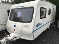 Bailey ranger 500/5 2006 5 berth with motor mover touring caravan