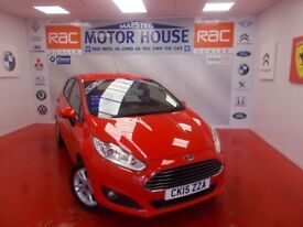 Ford Fiesta ZETEC(ONLY 24000 MILES) FREE MOT'S AS LONG AS YOU OWN THE CAR!!! (red) 2015