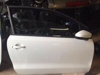 VOLKSWAGEN POLO DOOR 3DR O/S 2015 WHITE FULLY COMPLETE