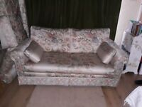 Two matching 2/3 seater sofas