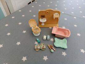 Sylvanian Bathroom set