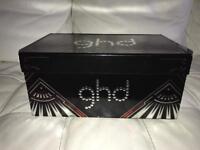 GHD straighteners & travel hairdryer set