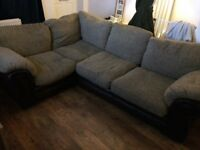 Corner Sofa and Chair