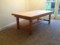 Natural Solid Wood Coffee Table £45 ONO