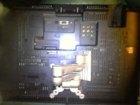 """28 """"LED TV with built in dvd player with wall bracket. Excellent working order"""