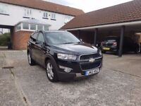 *** AUTOMATIC 7 seater black Chevrolet Captiva LTZ *** TWO careful owners from new