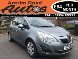 2011 VAUXHALL MERIVA EXCLUSIVE 1.4 TURBO ** FINANCE AVAILABLE WITH NO DEPOSIT