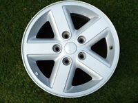 16 inch Alloy wheels for Jeep(Grand Cherokee 99 on, Wrangler 2007 on, Commander 05 - 10.