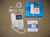BT Decor 2500 phone and answering machine, boxed as new.