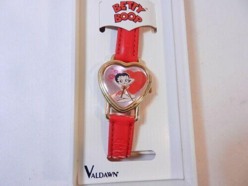 Betty Boop Collectors watch ladies by Valdawin unused in Original Case and Docs
