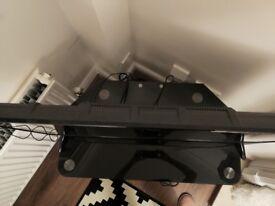 Smokey glass TV stand