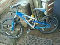 """Apollo fs24 12"""" bike 21 gears 24"""" wheels"""