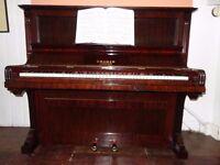 Beautiful Cramer upright piano - fully restored