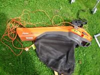 Leaf blower vacuum by Flymo, in good condition and working order