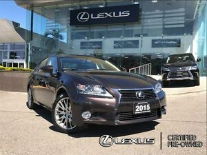 2015 Lexus GS 350 Executive pkg AWD Navi BackUp Cam Leather Sunr