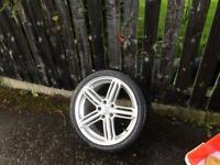 "Audi 18"" alloys & winter tyres"