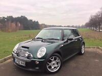 2005 MINI COOPER S, 6-SPEED, TOP SPEC - LEATHER, NAV, XENON, PAN ROOF**46,000 WITH FULL SERVICE HIST