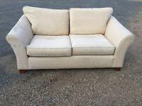 Bargain Italian Fabric Sofa Excellent Condition. Free Delivery In Norwich,