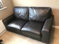 Perfect NEXT 2 Seater Leather Sofa