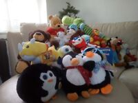 Huge bundle of mixed teddies new and used 50+ items £40 Ono