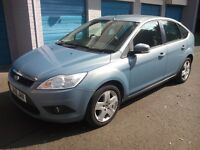 ford focus style tdci turbo diesel 2008 08 plate 1 owner form new