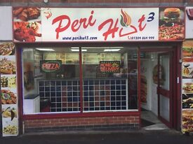 takeaway fast food ,busy in short hours,run by staff, low expenses, high profit, farnworth