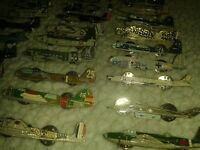 atlas editions airplane pin badges collection joblot