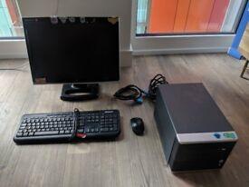 Custom budget PC, Celeron @ 2.70GHz, 4GB, 55GB SSD