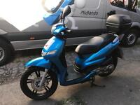 Peugoet Tweet 125, Blue, 2015, 1 owner, FSH